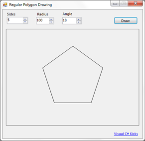 c# regular polygon